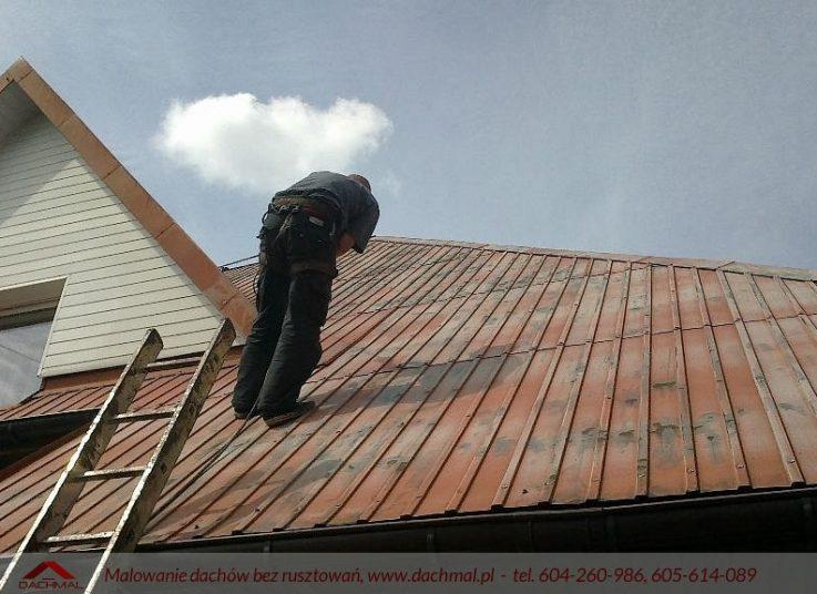 malowanie dachów małopolska