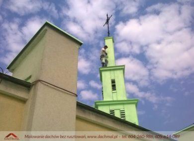malowanie elewacji kościoła