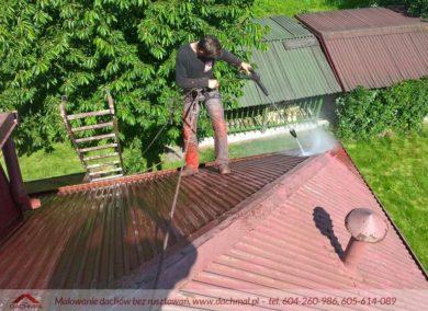 Malowanie dachu Bielsko-Biała
