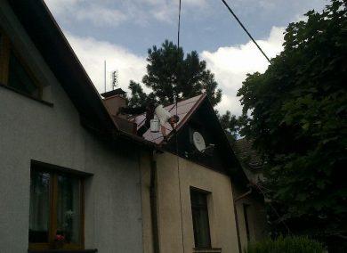 Malowanie dachu Bieruń