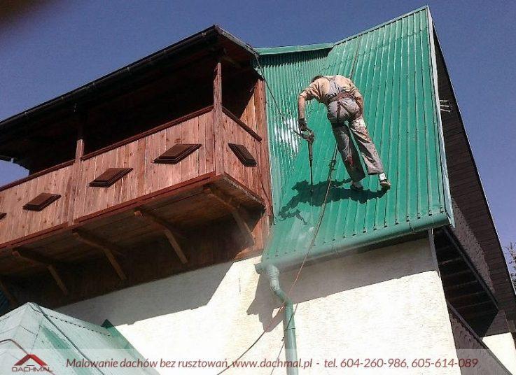 Malowanie blachy falistej Zakopane