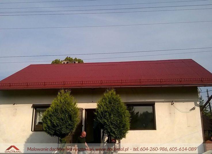 Malowanie dachu Częstochowa