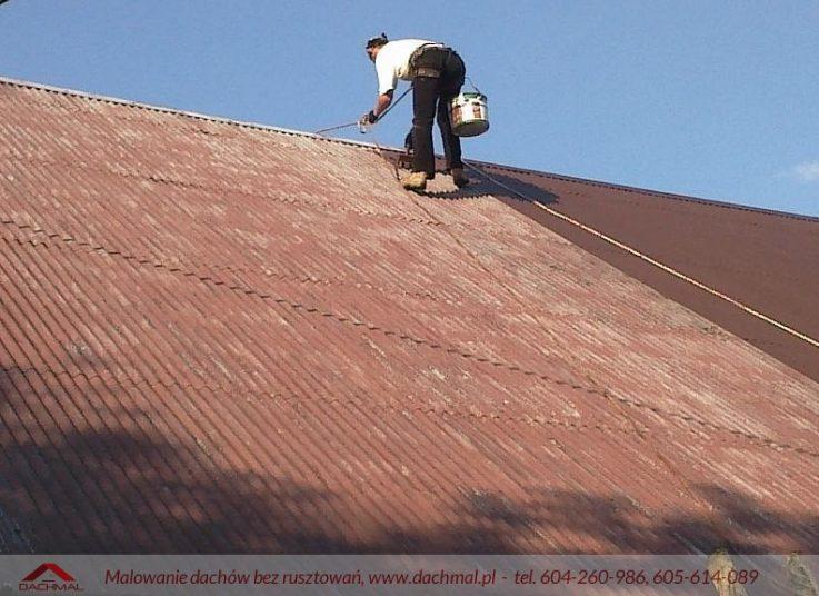 Malowanie dachu Kęty