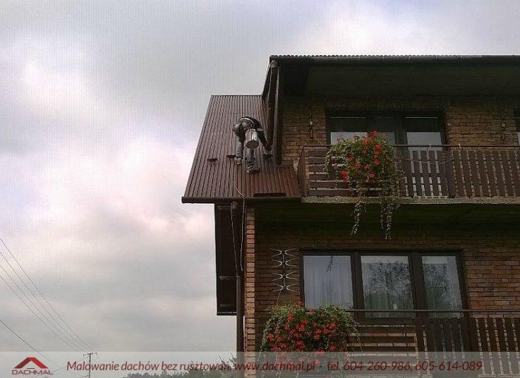 Malowanie dachu Woźniki