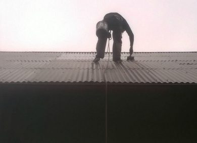Malowanie dachu falistego Żory