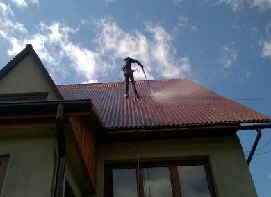 Malowanie dachu Sczawnica