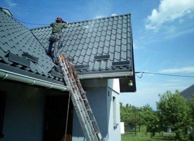 Malowanie dachów lato 2017