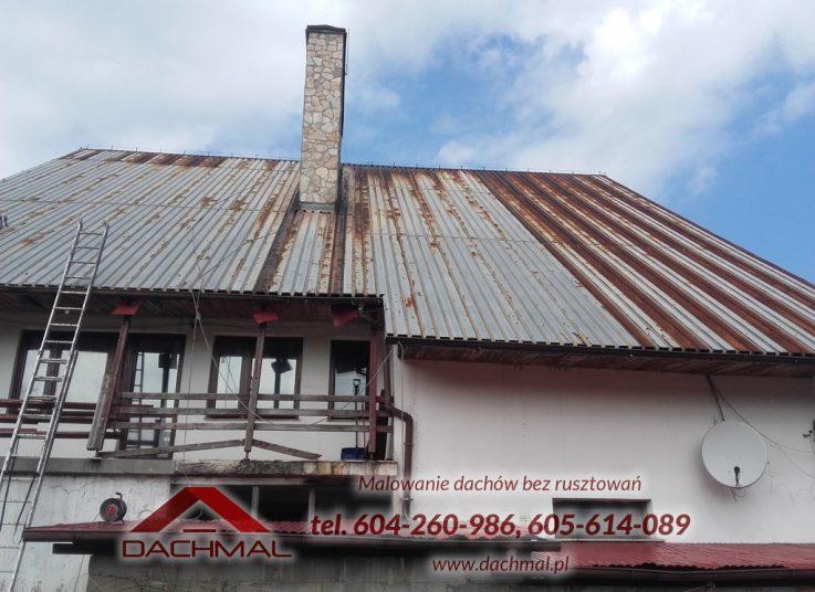 Malowanie dachu Tychy