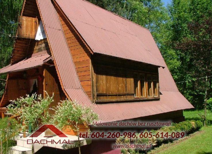 Malowanie dachu Mikołów