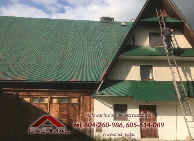 malowanie-dachu-zakopane