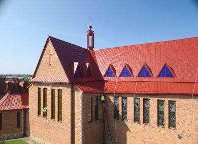 Malowanie kościoła Radomsko