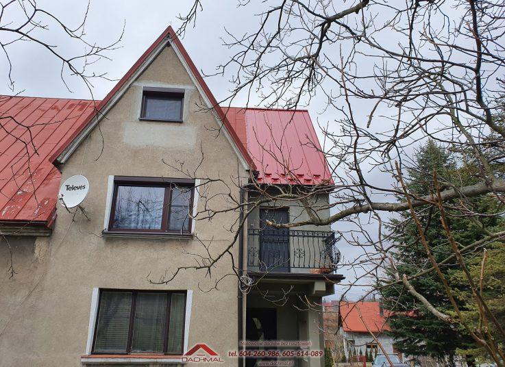 Odnowienie dachu domu jednorodzinnego Chełmek