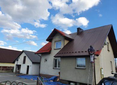 Wiosenne malowanie dachu 2020 Libiąż