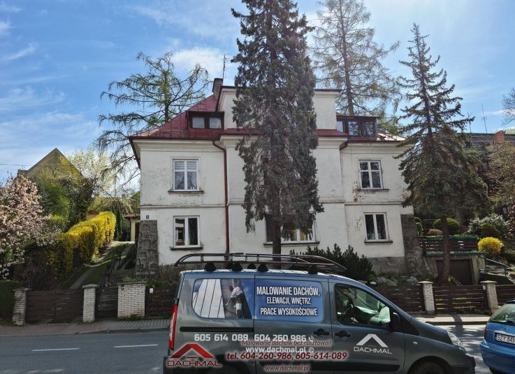 Malowanie dachu Cieszyn