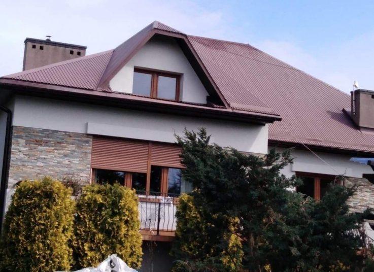 Malowanie dachu Wadowice