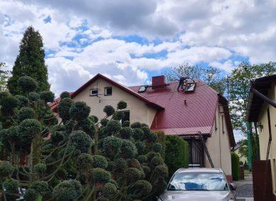 Malowanie dachu Wyry