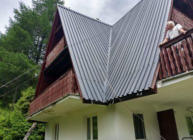 Malowanie dachu Sopotnia Wielka