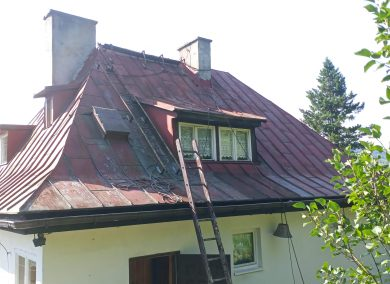 Malowanie dachów Skoczów