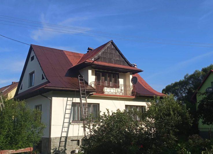 Malowanie dachu Węgierska Górka