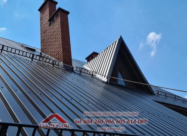 Malowanie dachu Rogoźnik OSP