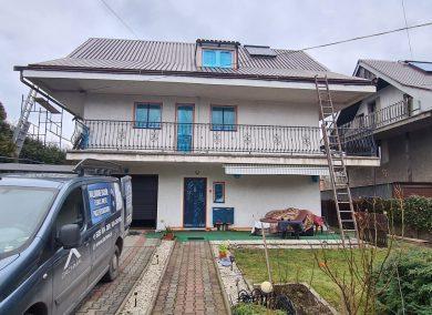 Konserwacja i malowanie dachu, laziska gorne - dachmal 01