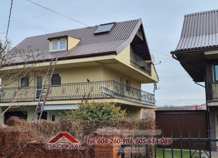 Konserwacja i malowanie dachu, laziska gorne - dachmal 03