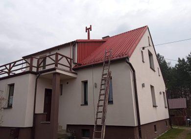malowanie dachu Harbutowice kolo cieszyna - dachmal 01