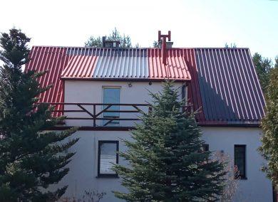 malowanie dachu Harbutowice kolo cieszyna - dachmal 04