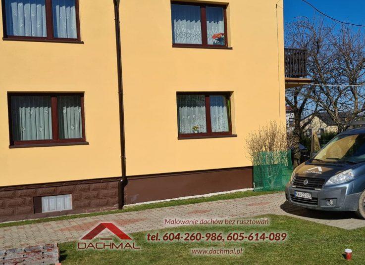 malowanie dachu Jaworze kolo Bielska - dachmal 02