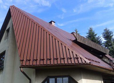 malowanie dachu z blachy Oswiecim - dachmal 01