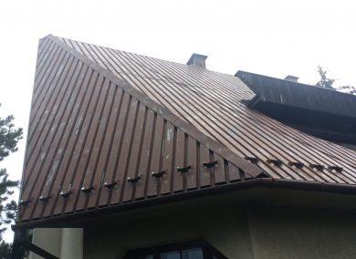 malowanie dachu z blachy Oswiecim - dachmal 02
