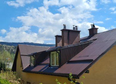 Malowanie dachu Kościelisko